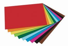 Tonpapier 130 g/m² durchgefärbt und geprüft zum perfekten Gestalten und Dekorieren