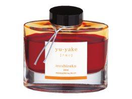 Tintenglas IROSHIZUKU. Glas mit 50 ml. Farbe: yu-yake