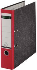 LEITZ Wolkenmarmor-Ordner, 180 Grad, DIN A4, 80 mm, rot