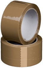 SMARTBOXPRO Verpackungsklebeband, PP, 50 mm x 66 m, braun